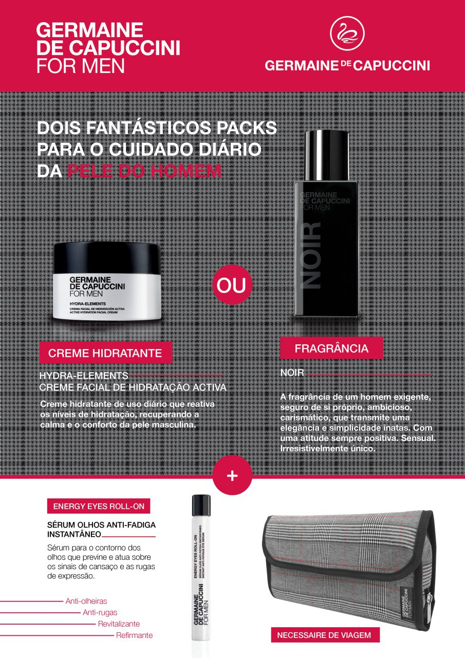 Campanha Dia do Pai Germaine de Capuccini FOR MEN