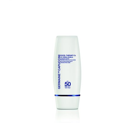 Excel Therapy O2 – UV Urban Shield SPF 50, Germaine de Capuccini, Cosmética