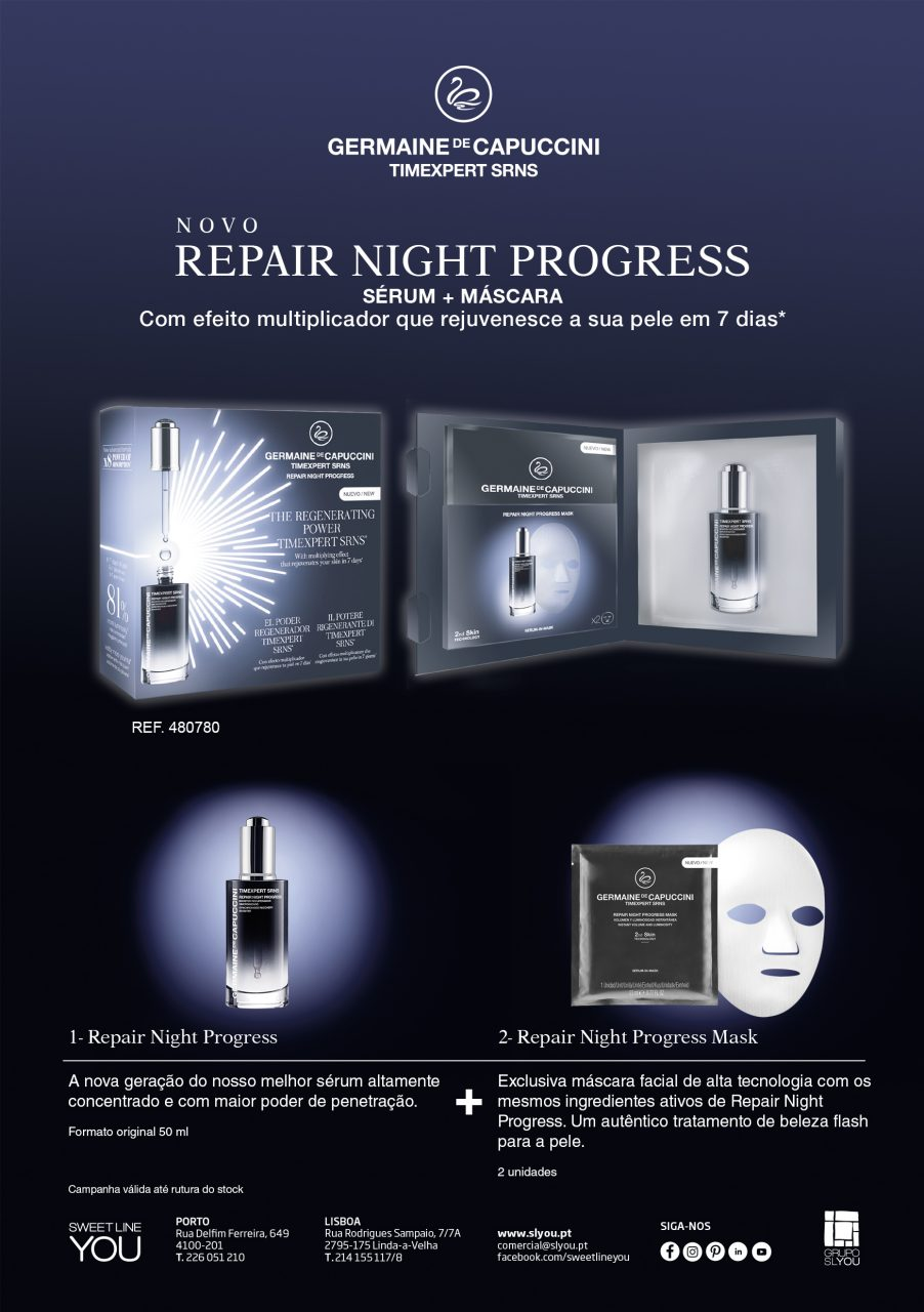Campanha novo repair nigth progress