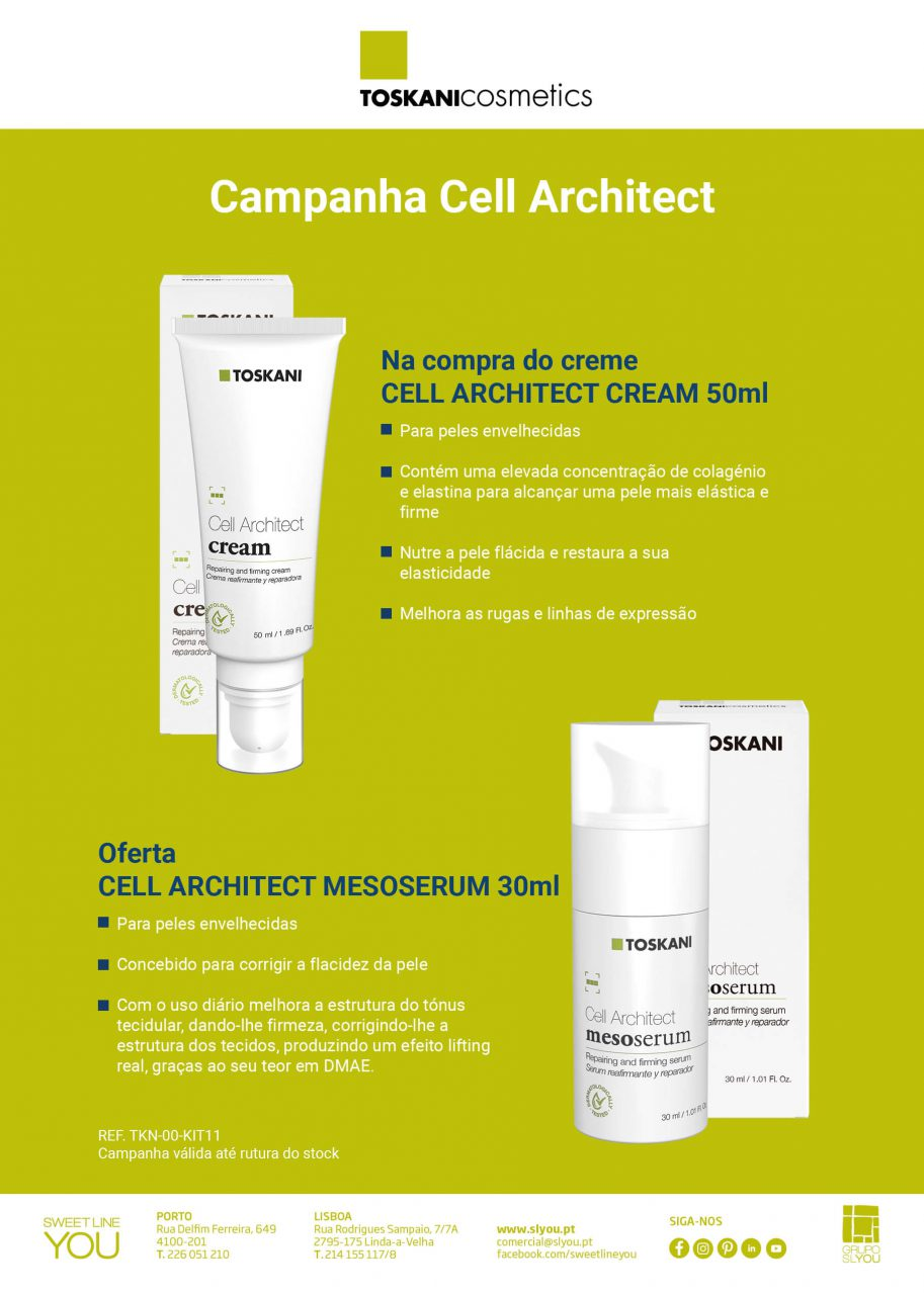Campanha Toskani Cell Architect, ,